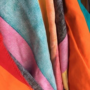 Vintage Jackets & Coats - Vintage technicolor striped blazer 🌈